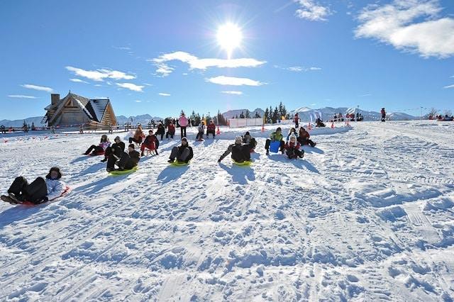 Zimowe Atrakcje Zakopanego Tatra Przygoda